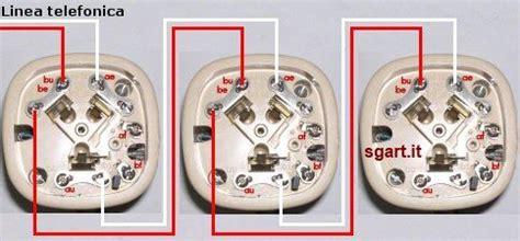 cosa si intende per seconda casa come collegare le prese telefoniche serie e parallelo