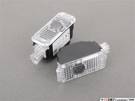 audi rings door light genuine volkswagen audi 4g0052133a led entry light set