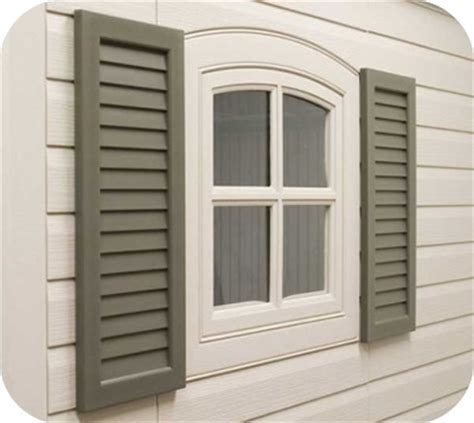 Plastic Shed Windows by Plastic Sheds Resin Storage Shed Kits
