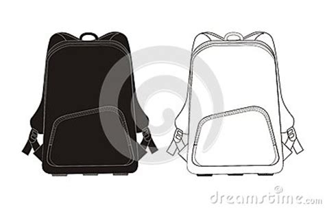 Backpack Template Stock Photography Image 26748522 Backpack Design Template