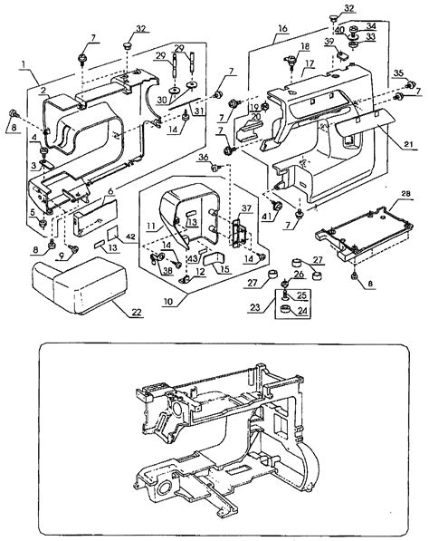 kenmore sewing machine wiring diagram wiring diagram