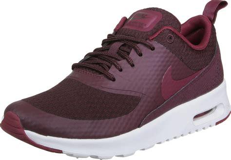 nike air max thea txt  shoes maroon