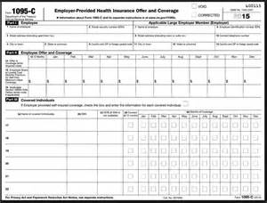 Must receive a 1094 c and a separate employee statement form 1095 c