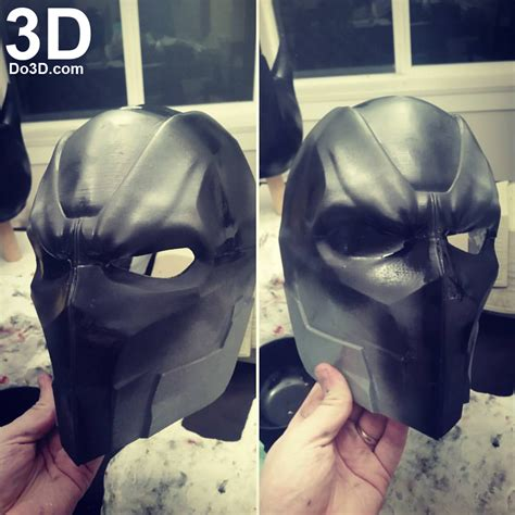 printable model deathstroke justice league helmet