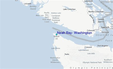 hobuck resort map neah bay map related keywords neah bay map