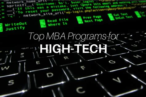 Mba Program Tech by Washington Foster Mba Archives 187 Touch Mba
