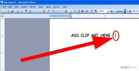 Microsoft Clipart For Mac 4 easy ways to add clip to microsoft word wikihow