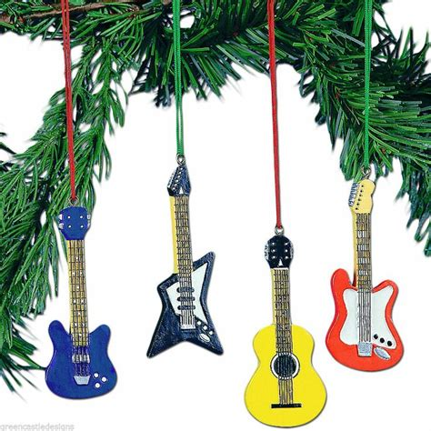 guitar christmas decorations 19 best rock n roll tree images on ornament tree
