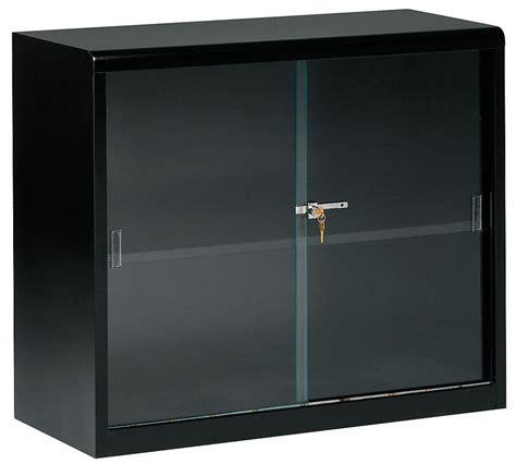 Grainger Glass Door Tennsco Bookcase Usa