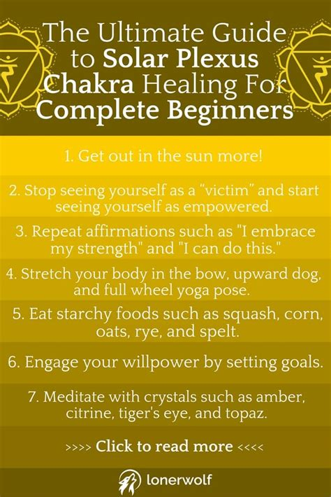 the guide to the ultimate guide to solar plexus chakra healing for