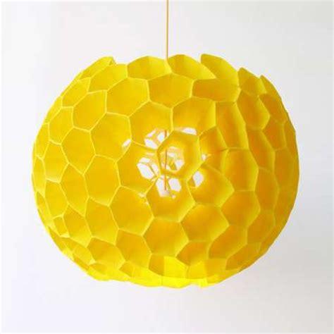 honeycomb lighting bold coral lamp  studio aisslinger