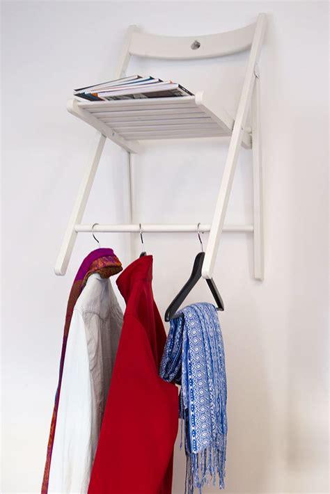 stuhl garderobe stuhl garderobe wardrobe diy selfmade creative