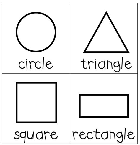 free shape templates to print 5 best images of rectangle shape template printable