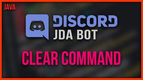discord hat bot jda discord bot programmieren 07 chat clear command