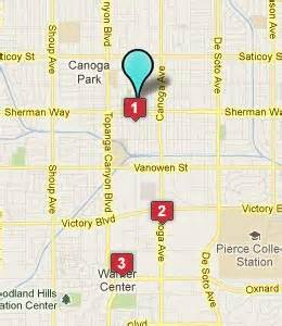 canoga park california map canoga park ca hotels motels see all discounts