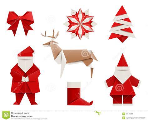 Comment Faire Un Cerf En Origami by Origami R 233 Aliste No 235 L R 233 Gl 233 Santa Cerf Commun Arbre