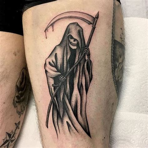 95 best grim reaper tattoo designs amp meanings 2018