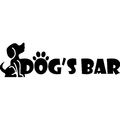 Stickers Chat 3423 by Sticker S Bar Stickers Animaux Chiens Ambiance Sticker
