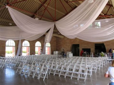 party draping ideas ways to swag pipe and drape backdrop 12 panel ceiling