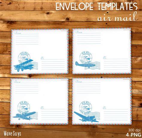 airmail envelope printable 92 fantastiche immagini su air mail printables su
