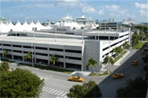 Port Of Miami Rental Car Drop by Parking Transportation Portmiami Miami Dade County