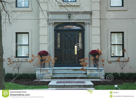 home entrance grand home entrance royalty free stock photography image
