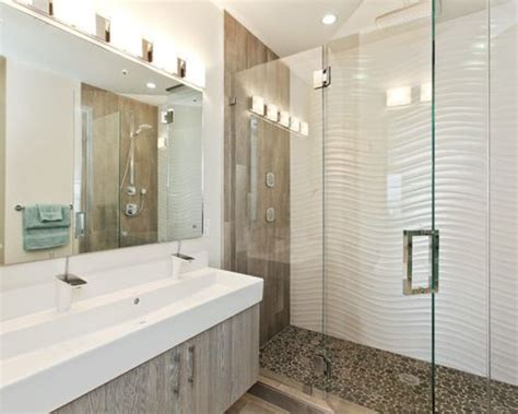wavy bathroom tile wavy tile home design ideas renovations photos