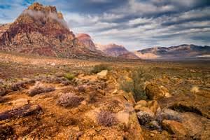 Landscape Photography Las Vegas The Cloudy Desert Mountain Ranch