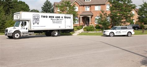 house movers ontario barrie movers two men and a truck home moving business