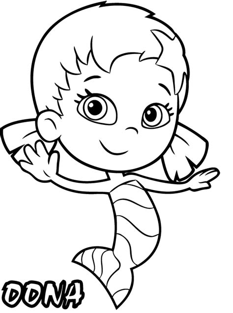 Bubble Guppies Para Colorear Pintar E Imprimir Guppies Color Pages