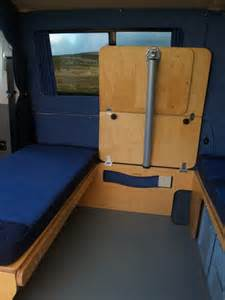 Rv Dining Table Bed Vw T5 Swb Amdro Fitted Conversion From Panel To Cer Amdro Alternative Cer