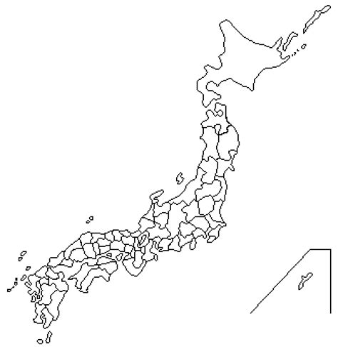 printable images of japan blank japanese map