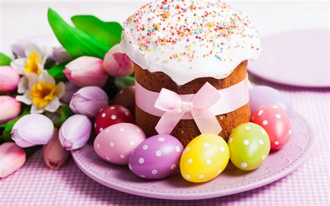 Decorating With Wallpaper by Easter Cake Decoration Eggs Wallpapers 1920x1200 488112