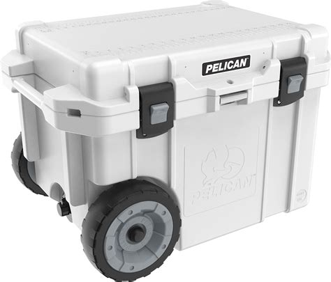 heavy duty coolers with wheels 45qw elite wheeled cooler pelican