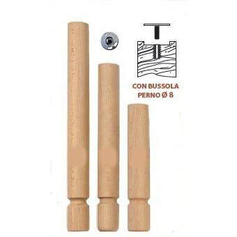 gambe in legno tornite per tavoli gambe per tavolo massello faggio tornito tondo