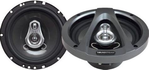 Speaker 6 Soundstream Xt 653 2way soundstream pct 653 three way speakers 6 5 inch diameter 2 25 inches top mount depth 90 db