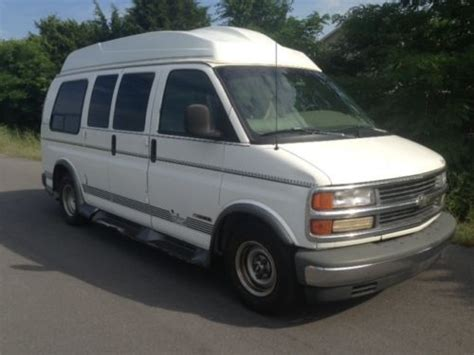 how cars run 1999 chevrolet express 1500 on board diagnostic system purchase used 1999 chevrolet express 1500 luxury conversion van 4 3l 20mpg runs 100 low mi