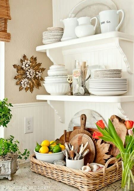 Open Kitchen Shelves With Baskets Open Shelf And Basket For Storage Baskets Buckets