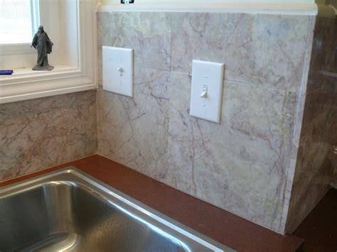 stick on tile for backsplash peel and stick backsplash kits on the market great home decor