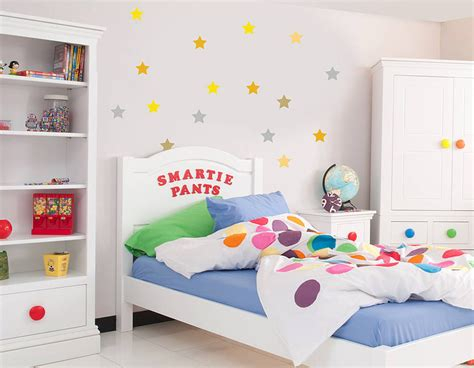 Star Wall Stickers Uk star wall sticker set contemporary wall stickers