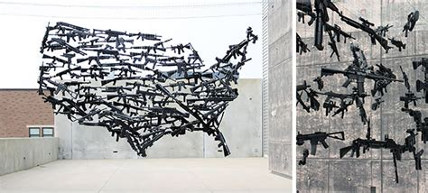 toy guns combined   remarkable usa map installation