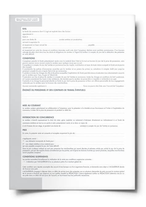 compromis de vente maison 5023 compromis de vente de fonds de commerce sous conditions