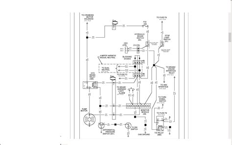 international 4700 wiring diagram with t444 engine 1999 international 3400 t444e problem electric motor sound at brake pedal is activated at