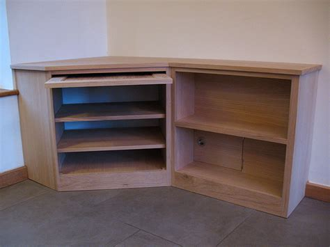 corner media units living room furniture oak corner media unit bespoke handmade living furniture brighton sussex tekton carpentry
