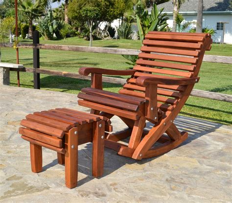 adirondack chair cushion diy outdoor wooden rocking chair with built in lower back support
