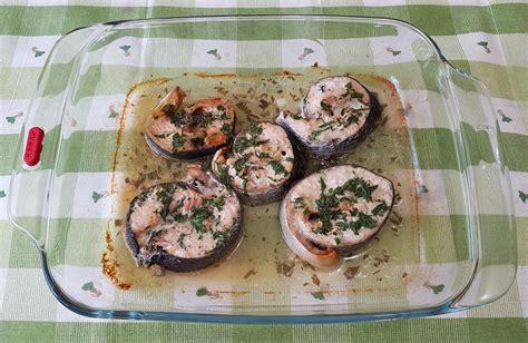 cucinare tranci di salmone al forno tranci di salmone al forno