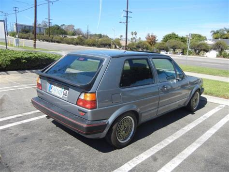 volkswagen golf 1986 not gti 1986 volkswagen golf gt buy classic volks