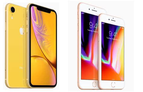 iphone xr vs iphone 8 apples instapmodel vergeleken