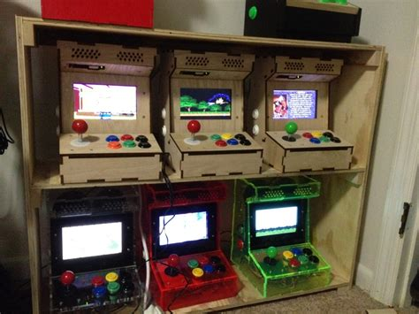 custom arcade kits diy arcade kits more porta pi arcade kit