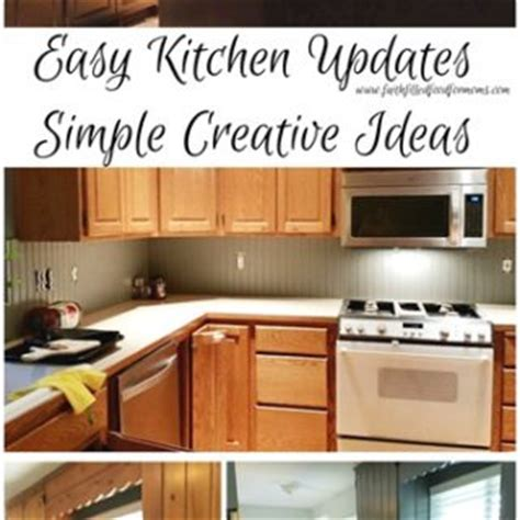 easy kitchen update ideas faith filled food for moms christian mom to 7 sharing
